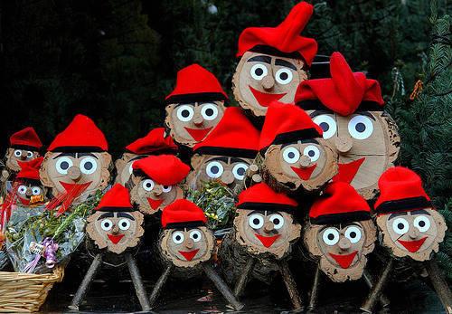 tio de nadal Christmas markets