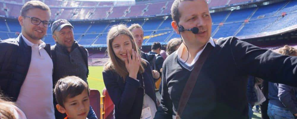 Another way to visit Camp Nou: take a guided tour with an expert!