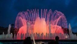 Magical fountains Barcelona
