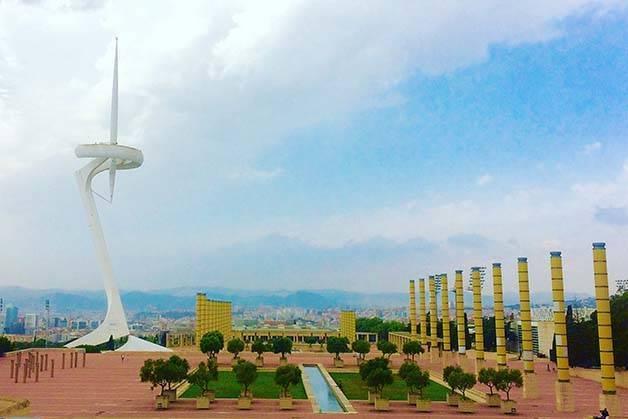 montjuic communications tower