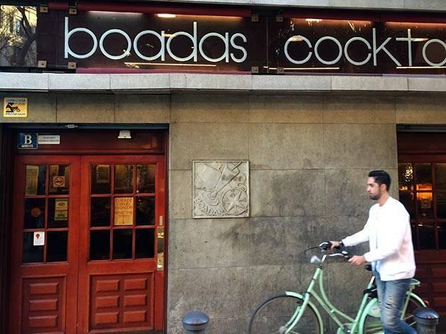 authentic cocktail bars Boadas