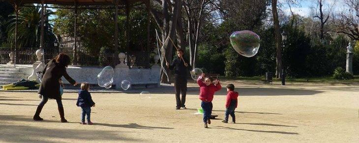 Barcelona with children