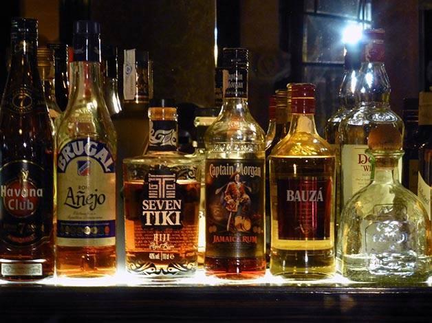 bottles bar stag