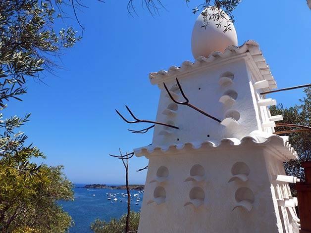 Dalí's house sagalès pass