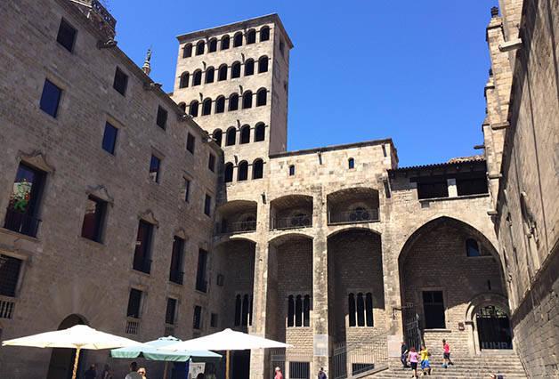 plaça del rei History Museum