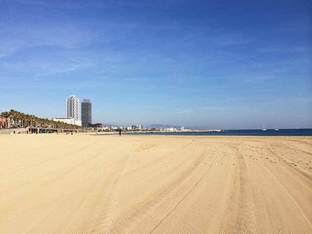 sports Barcelona beach