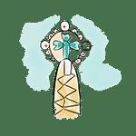 sagrada familia steeple drawing