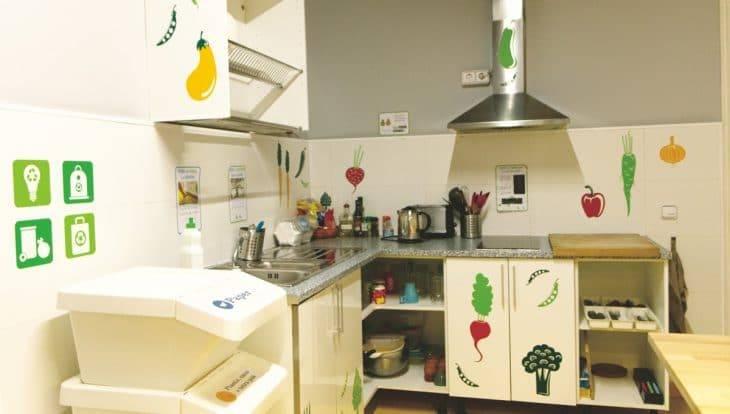 sleep green kitchen