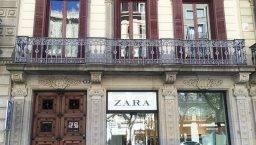 shopping women zara barcelona