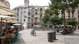 plaça George Orwell Barcelona