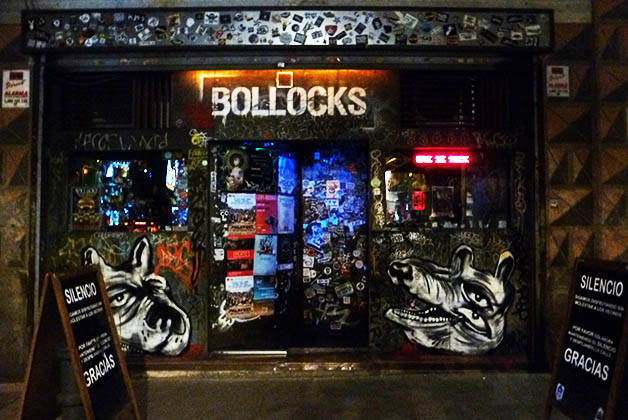 rock bars Bollocks