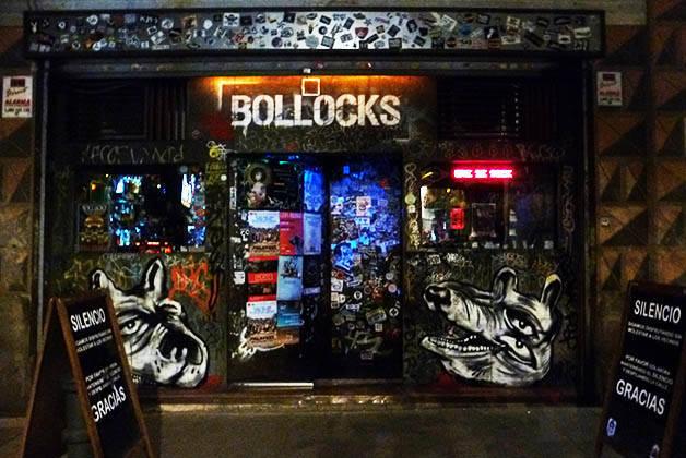 rock bars Bollocks