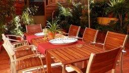 terrace, Central Garden youth hostel