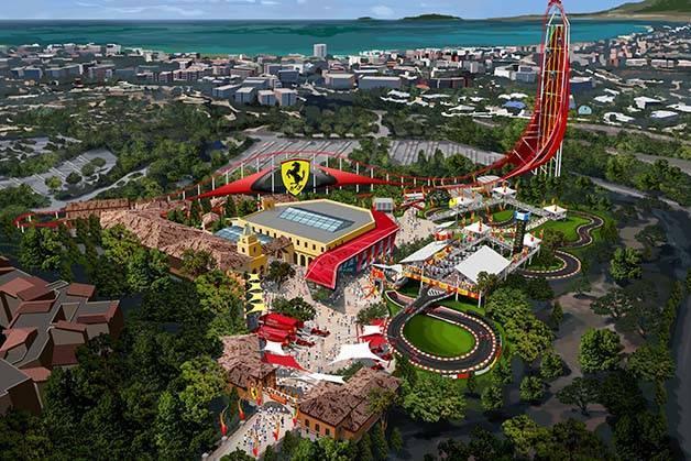 Ferrari Land: new park at Port Aventura
