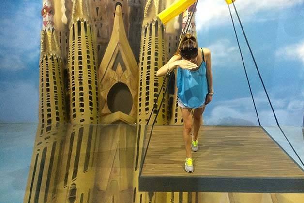 Museum of illusions Sagrada Familia
