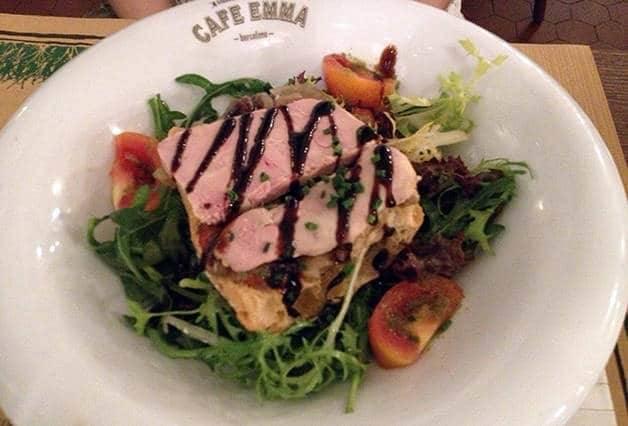 café emma foie gras salad