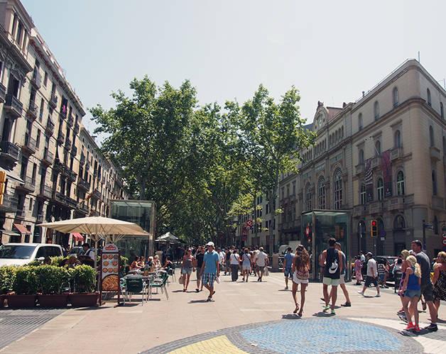 las ramblas: visit Barcelona