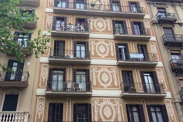 Sagrada Familia and Gaudí façades