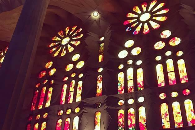 Sagrada Familia inside