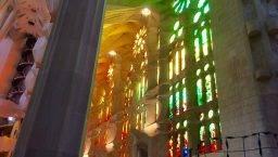 Sagrada Familia and Gaudí inside