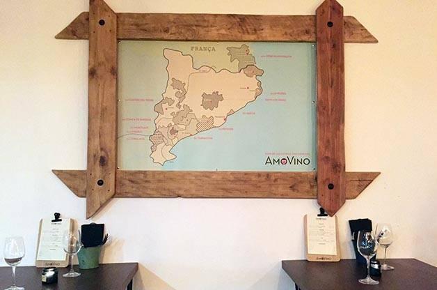 Amovino map