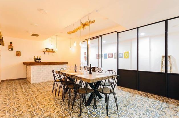 Amovino tasting room