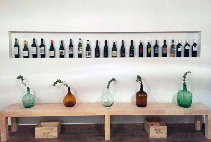 Amovino, wine bottles