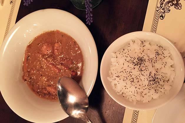 the sopa boba: thai chicken