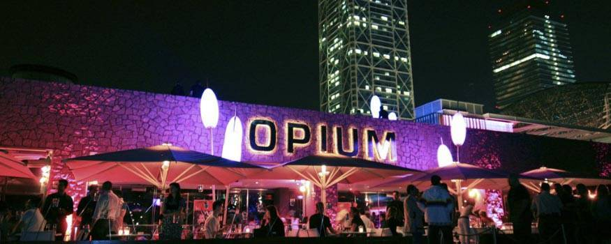 party in Barcelona Opium
