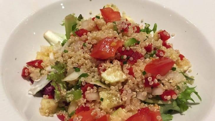 vegan food, Trencadís cous cous salad