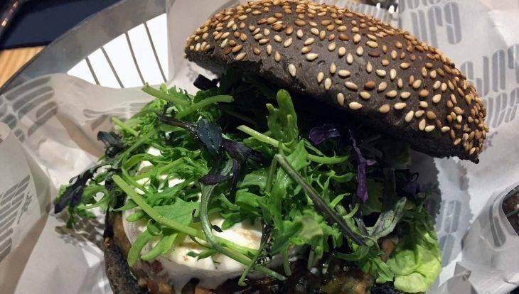 Santa Burg burger