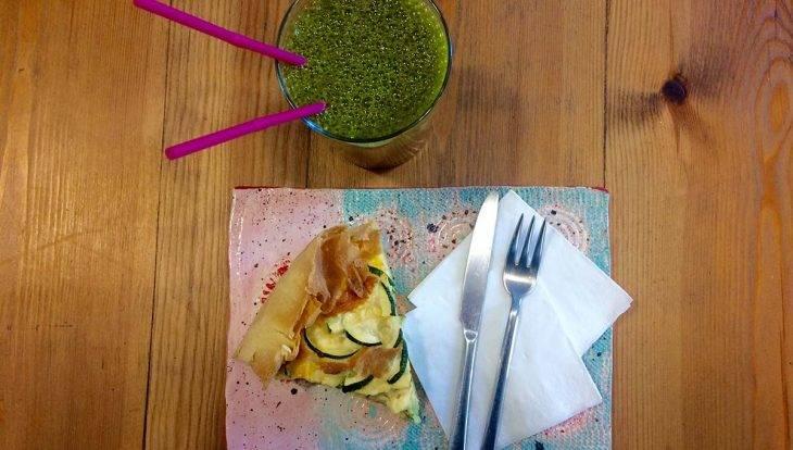 The SweetOphelia café meal