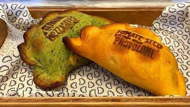 colourful empanadas Les Muns