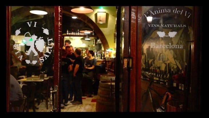 Wine bar: Anima del Vi exterior