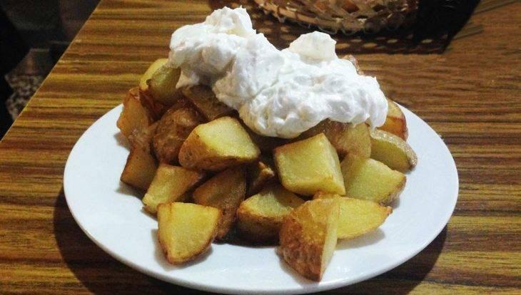 Casa López potatoes
