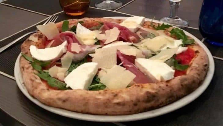 pizza in Barcelona