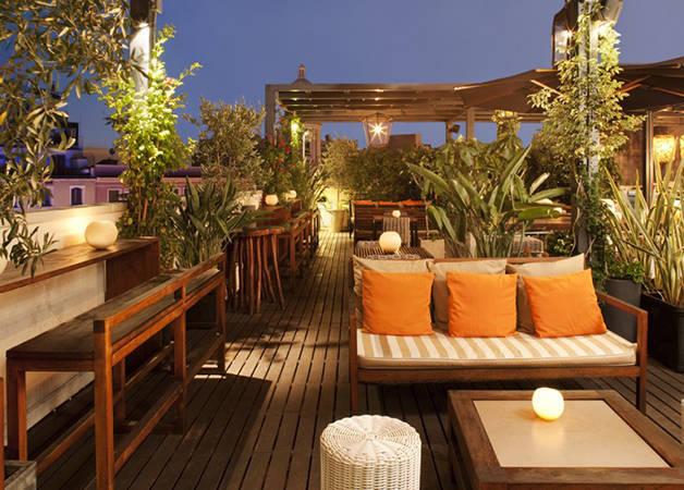 Barcelona hotels: Pulitzer terrace