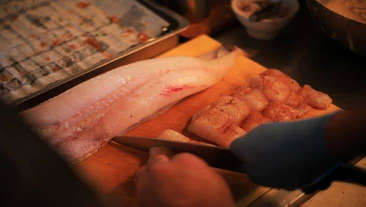 The fish&chips Shop: fresh fish fillets