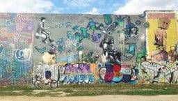 bycicle street art tour