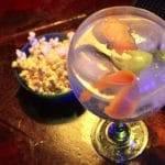 Cocktail and popcorn, Polaroid