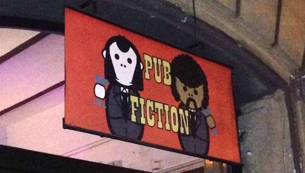 best bars pub fiction