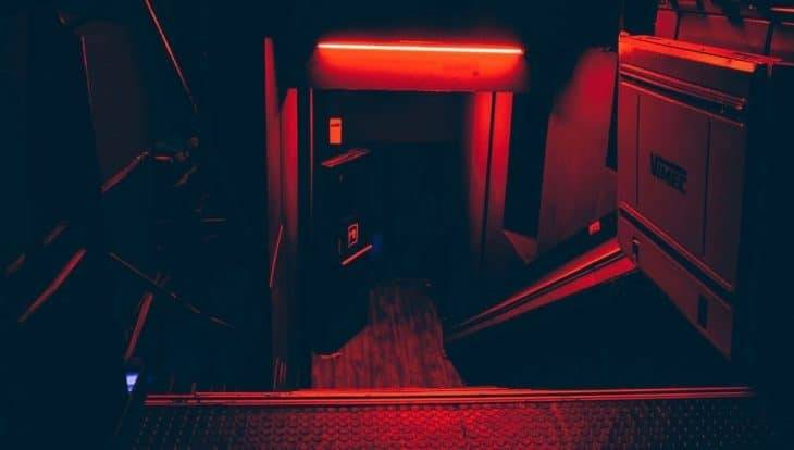 Entry to The Red58 electro club