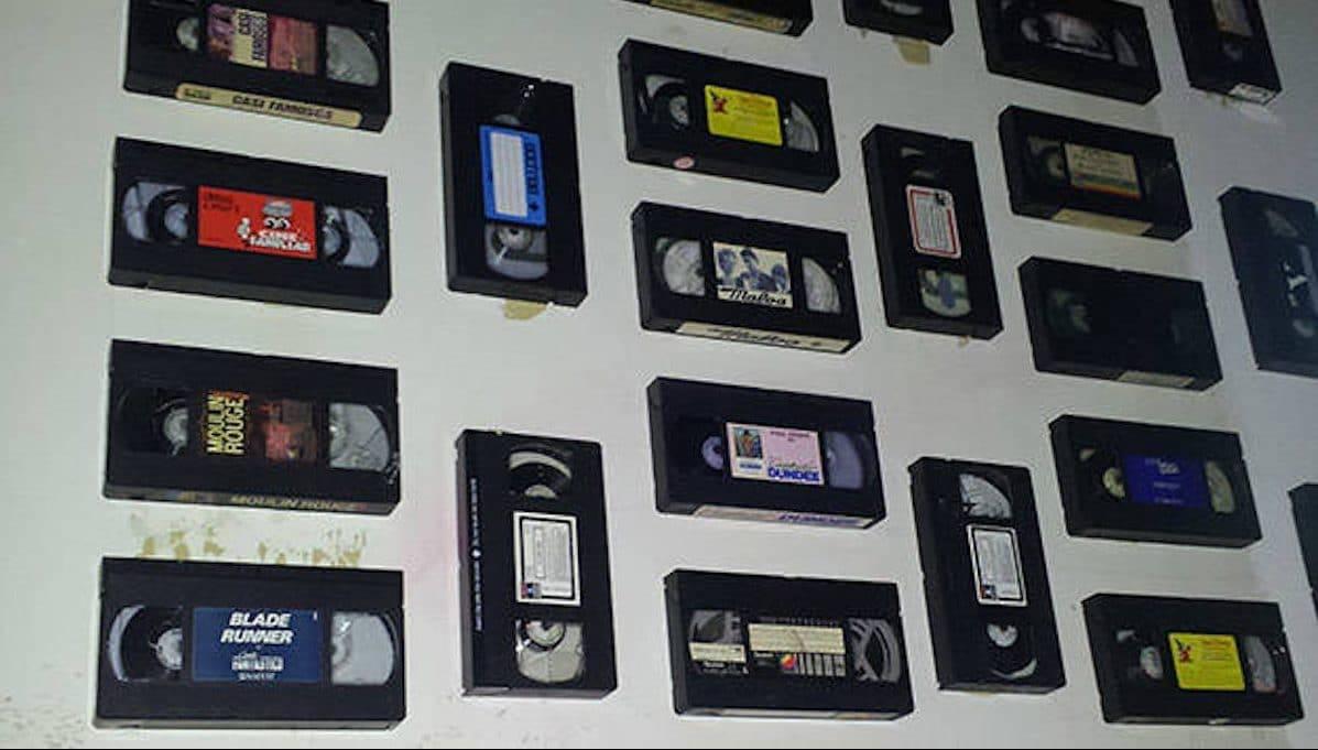 best bars Polaroid: video cassette wall
