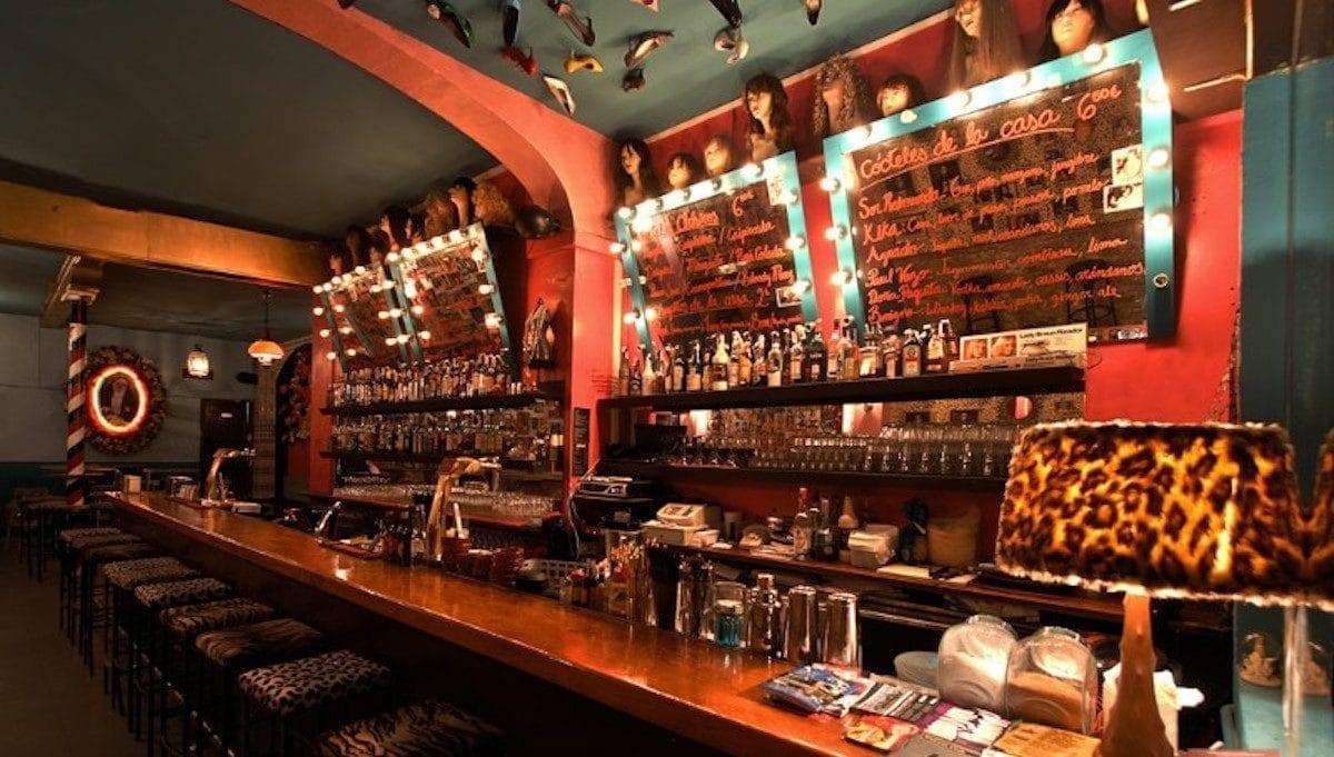 best bars: bar at Sor Rita