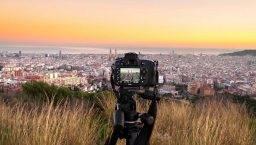 Barcelone panorama view