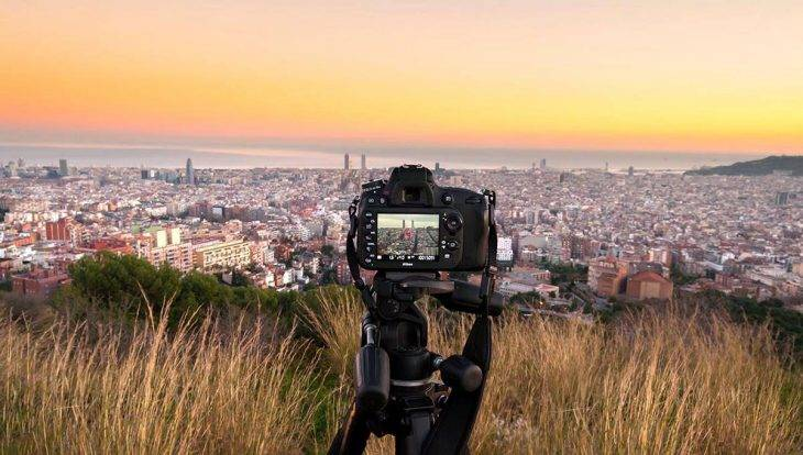 Barcelone panorama view