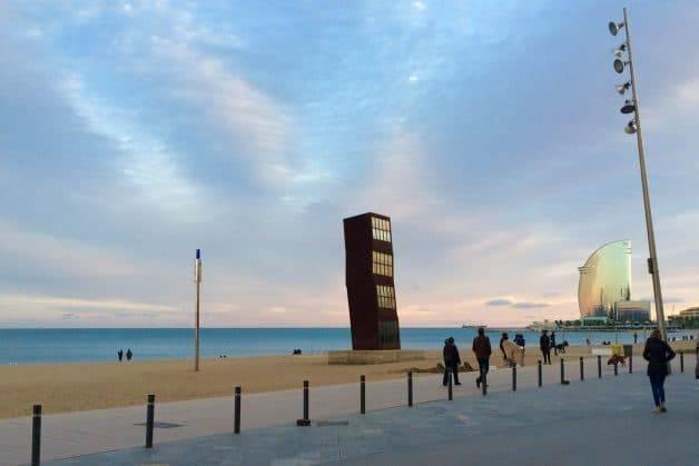 Barcelona sea front