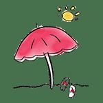parasol illustration