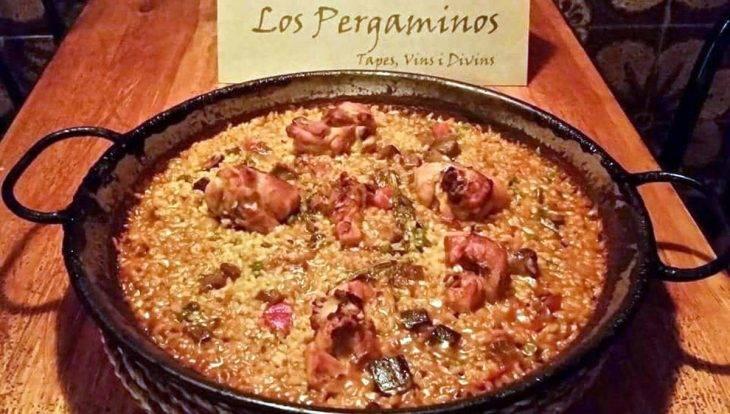 romantic restaurants, Los Pergaminos