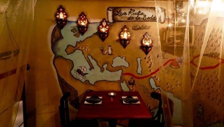 Ziryab- romantic restaurant